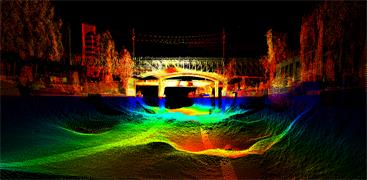 Merlin data point-cloud